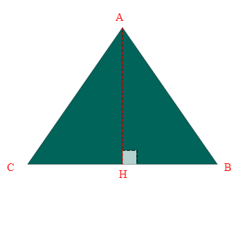 Bâche plate triangle sur mesure
